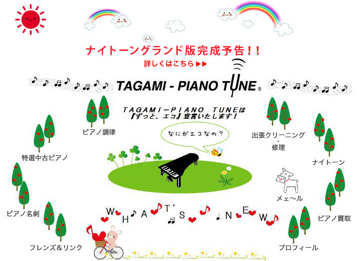 調律師 TAGAMI-PIANO TUNE